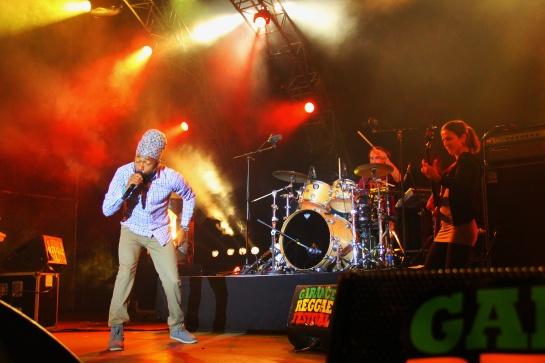 Lutan Fyah & Dub Akom , Live Garance Reggae Festival 2014 - Photo : Fred reGGaeLover 2014