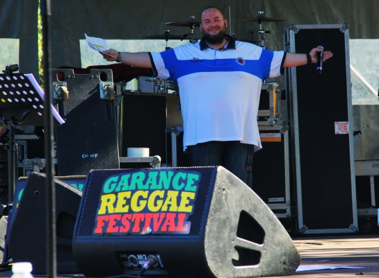 Francky / Party Time and Official Speaker at Garance - Photo Fred reGGaeLover 2014