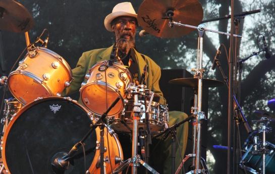 Leroy Horsemouth Wallace , Live Garance Reggae Festival 2014 - Photo Fred reGGaeLover 2014