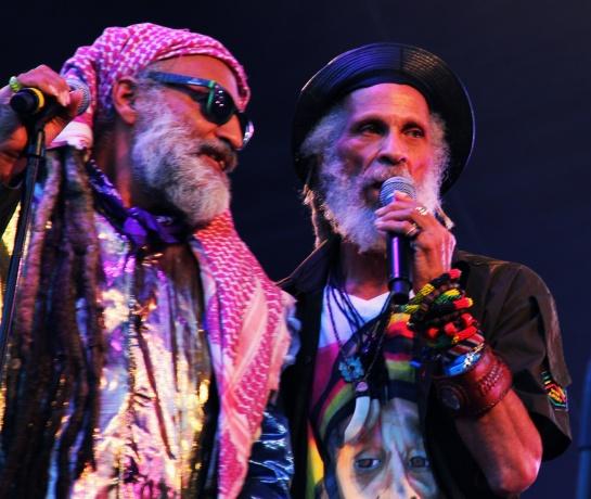 Rzee Jackson & Cedric Myton , Live Garance Reggae Festival 2014 - Photo Fred reGGaeLover 2014