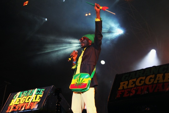 Anthony B , Live Garance Reggae Festival 2014 - Photo Fred reGGaeLover 2014