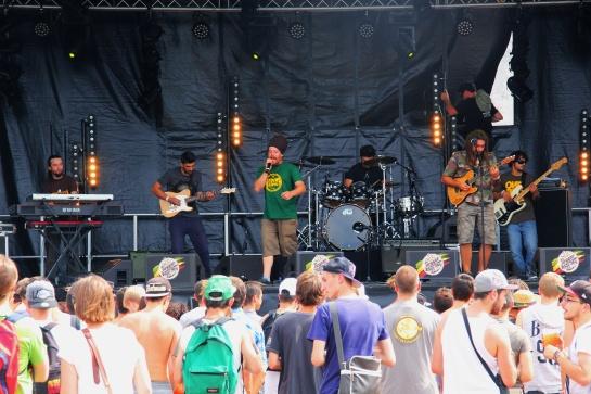Jah Gaia , Live  Reggae Sun Ska 2014 - Photo : Fred reGGaeLover 2014