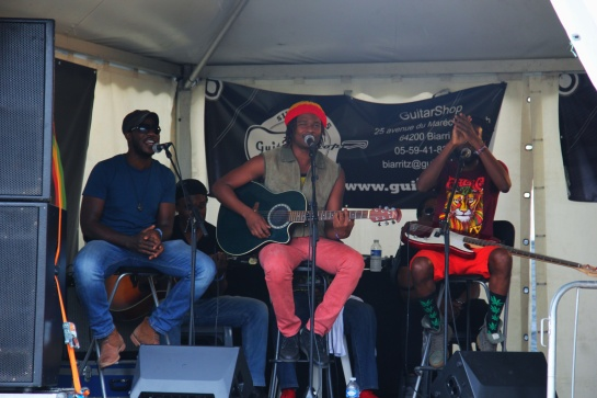 Raging Fyah, Acoustic Showcase , Reggae Sun Ska 2014 - Photo : Fred reGGaeLover 2014