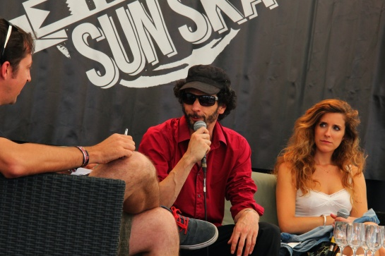 Train's Tone ,  Press Meeting   Reggae Sun Ska 2014 - Photo : Fred reGGaeLover 2014