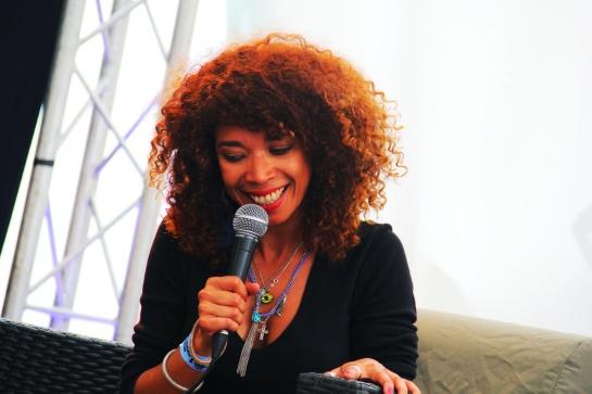 Flavia Coehlo, Press Meeting , Reggae Sun Ska 2014 - Photo : Fred reGGaeLover 2014