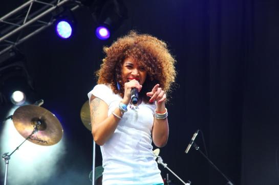 Flavia Coelho, Live  Reggae Sun Ska 2014 - Photo : Fred reGGaeLover 2014