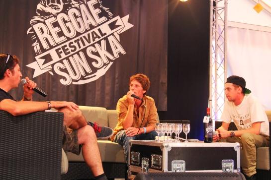 Naaman & Fatlabs, Press Meeting   Reggae Sun Ska 2014 - Photo : Fred reGGaeLover 2014