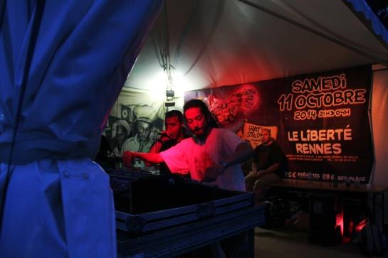 Ackboo Dub, Live Set, Reggae Sun Ska 2014 - Photo : Fred reGGaeLover 2014