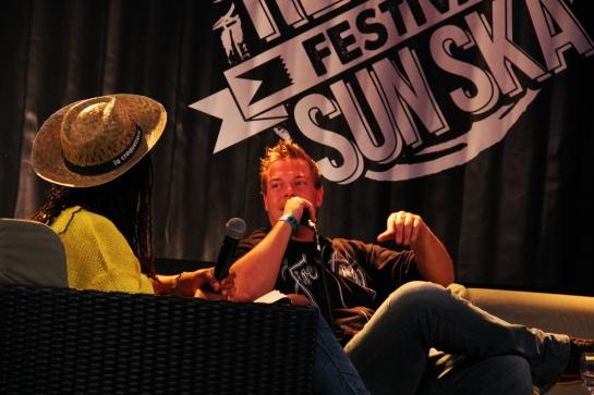 Dubmatix ,  Press Meeting   Reggae Sun Ska 2014 - Photo : Fred reGGaeLover 2014