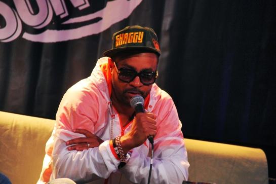 Shaggy, Press Meeting  Reggae Sun Ska 2014 - Photo : Fred reGGaeLover 2014