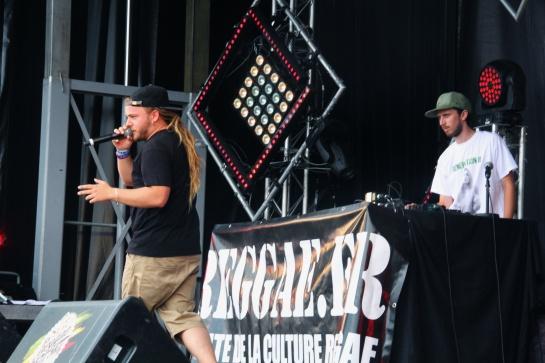 Volodia , Live  Reggae Sun Ska 2014 - Photo : Fred reGGaeLover 2014