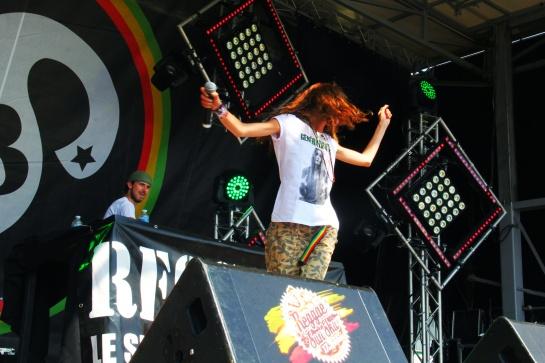 Leah Rosier , Live  Reggae Sun Ska 2014 - Photo : Fred reGGaeLover 2014