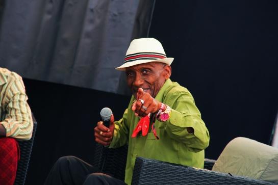 The Jolly Boys , Press Meeting At  Reggae Sun Ska 2014 - Photo : Fred reGGaeLover 2014