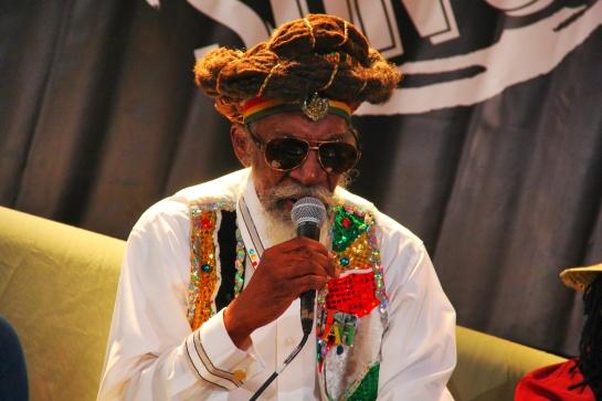 Bunny Wailer , Press Meeting at Reggae Sun Ska 2014- Photo Fred reGGaeLover 2014