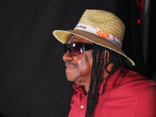 Lester Sterling, Press Meeting at Reggae Sun Ska 2014- Photo Fred reGGaeLover 2014