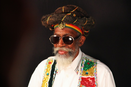 Bunny Wailer  Press Meeting at Reggae Sun Ska 2014- Photo Fred reGGaeLover 2014