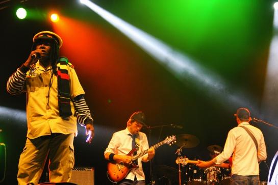 Natty Will Fly Again : Winston Jarrett & Hand Cart Band  , Live  Reggae Sun Ska 2014 - Photo : Fred reGGaeLover 2014