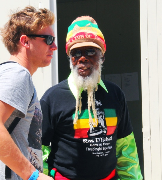 Ras Michael , Get In At Garance Reggae Festival 2014 - Photo : Fred reGGaeLover 2014