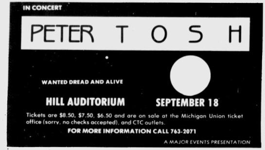 1981-09-17 Michigan Daily Advert