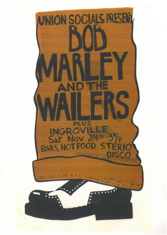 The Wailers, Manchester Polytechnic, November 24, 1973