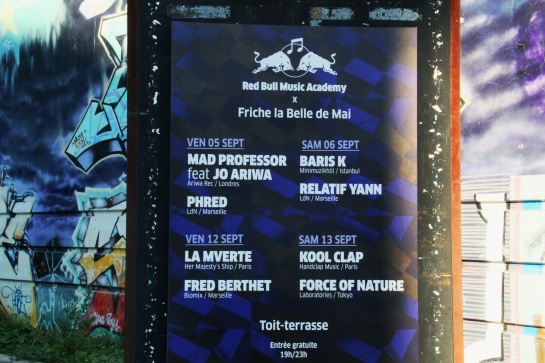 Mad Professor Poster at La Friche - Photo : Fred reGGaeLover 2014