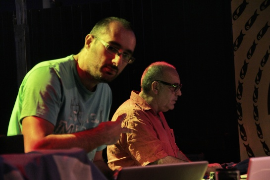 Dj Kayalik & Oncle Bo, Les Djs Du Soleil, Dock Sessions 02 - Photo Fred reGGaeLover 2014