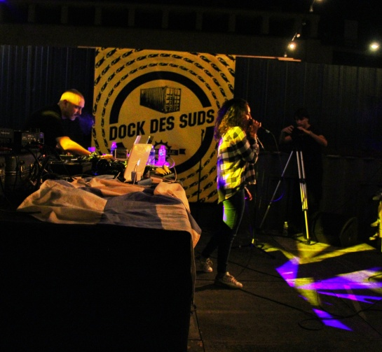 Lyah &  Dj Kafra , Les Djs Du Soleil, Dock Sessions 02 - Photo Fred reGGaeLover 2014