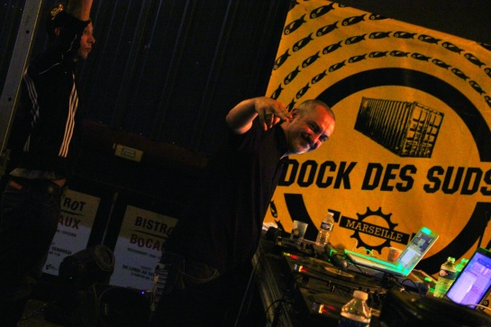 Dj Kafra , Les Djs Du Soleil, Dock Sessions 02 - Photo Fred reGGaeLover 2014