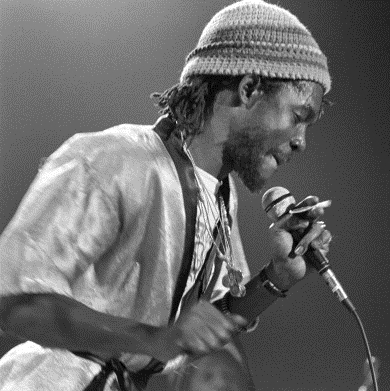 Peter Tosh in Concert at Alex Cooley's Capri Ballroom in Atlanta - February 21, 1979 (Photo:  Tom Hill)