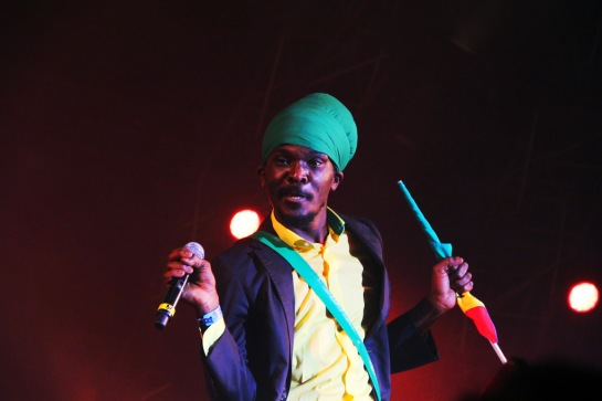 Anthony B, live Garance Reggae Festival 2014 - Photo Fred reGGaeLover 2014