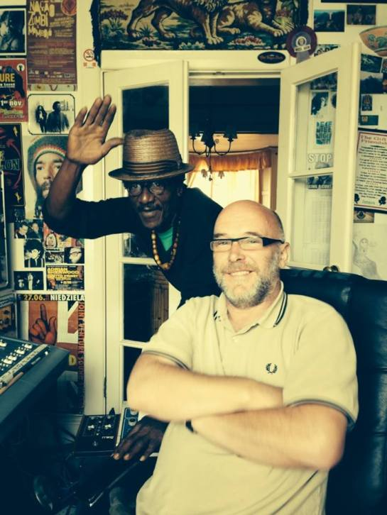 "Sherwood in the studio with ""Style,"" 2014"