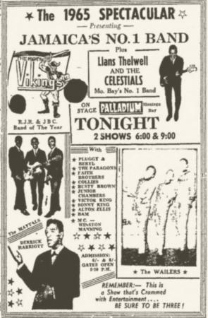 1965-03-29 Live Palladium, Montego Bay