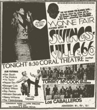 1966-12-28 Live With Featured artists from Swings Ville 66 , Coral Theater, Montego Bay