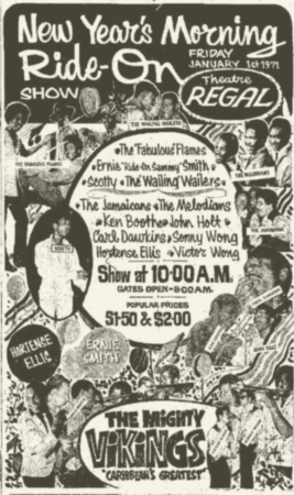 1971-01-01 New Year Morning Ride On Show, Regal Theater, Kingston
