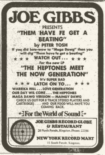 1971-11-27 peter tosh maga dog