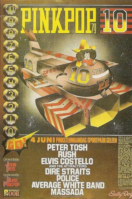 1979 Pink Pop Poster