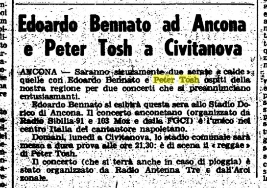 1980-07-13 article for civitanova concert