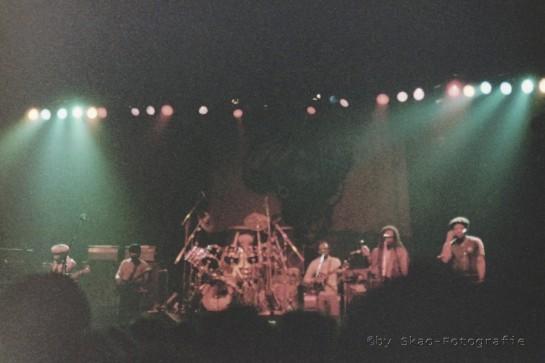 Peter Tosh & Word Sound And Power , Live 1983 Dusseldorf - Ticket Stub