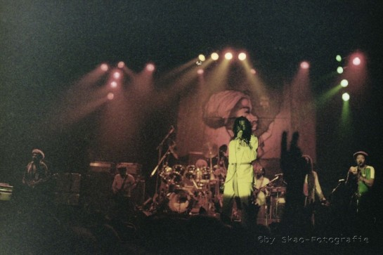 Peter Tosh & Word Sound And Power , Live 1983 Dusseldorf - photo by www.Skao.de