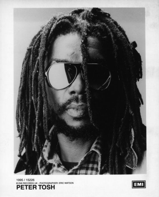 Peter Tosh by Eric Watson - Emi Records