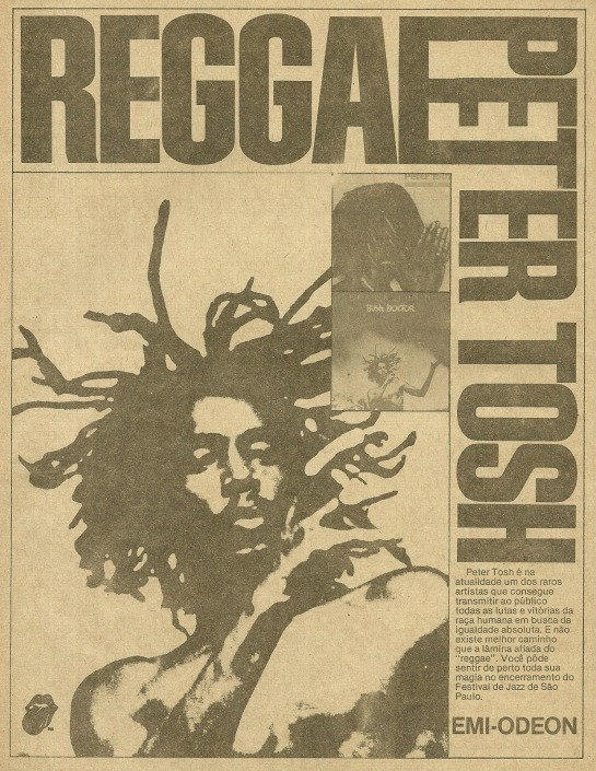 Advert Into  Música  Magazine, published May 1980