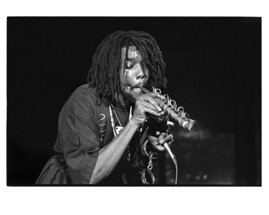 Peter Tosh , Park West - Photo By Kirk West
