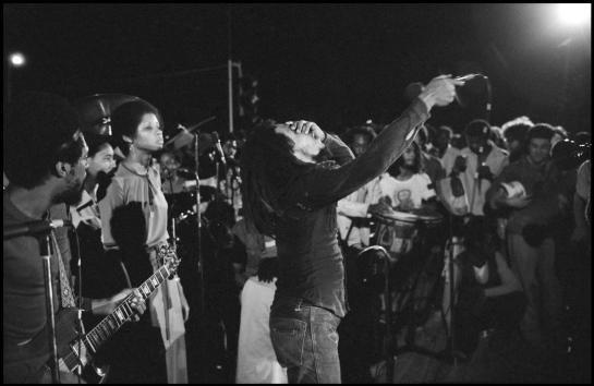 Bob Marley, Smile Jamaica, December 5, 1976 (Photo: Alex Webb)