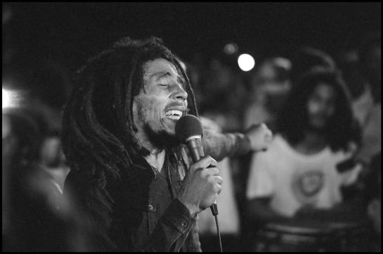 Bob Marley, Smile Jamaica, December 5, 1976 (Photo: Alex Webb)