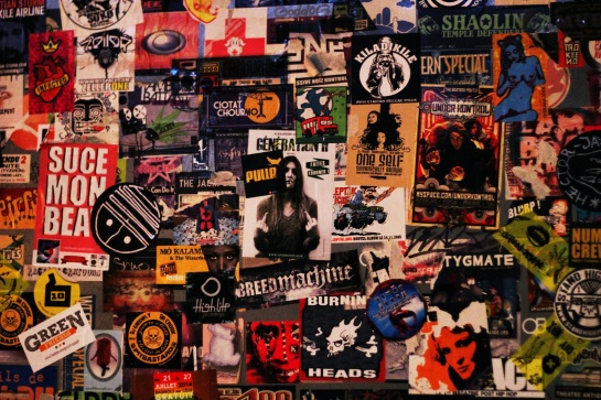 Akwaba Wall Of Artists, Bands  - Photo : Fred reGGaeLover 2014