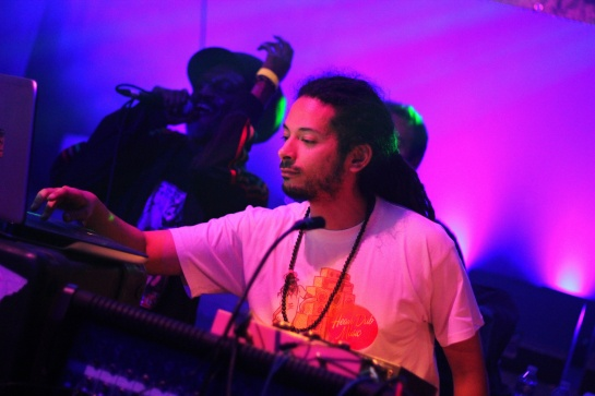 Ackboo Dub  and Culture Freeman , Live Telerama Dub Festival 12 - Photo Fred reGGaeLover 2014
