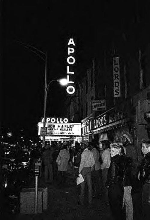 wailers at apollo theater 1979
