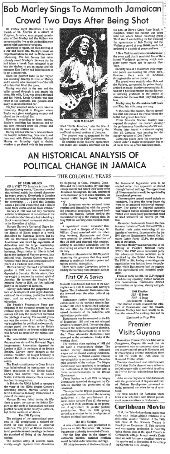 Jamaica Gleaner, December 11, 1976