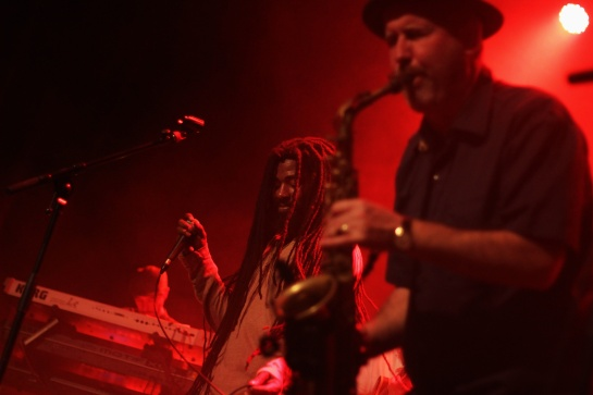 2014-12-06 Omar Perry & Guillaume Stepper, backstage , Live Festival Le Tour du Pays d'Aix, France - Photo Fred reGGaeLover 2014