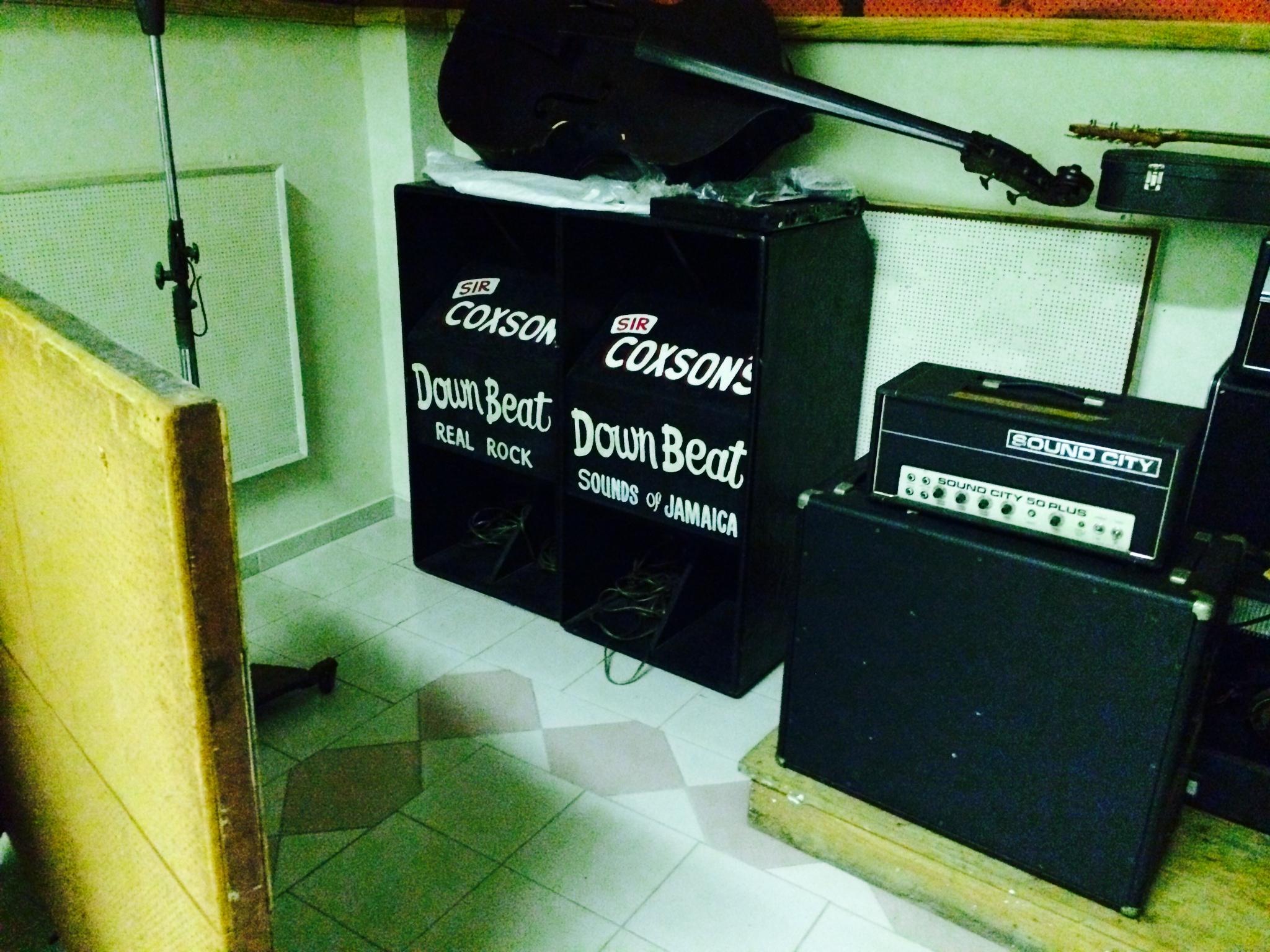 Coxsone Downbeat Sound System Equipment
